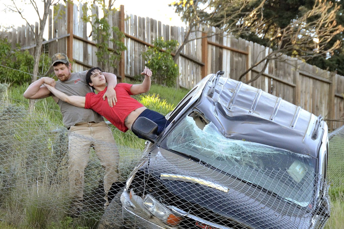 Image: SUV rescue