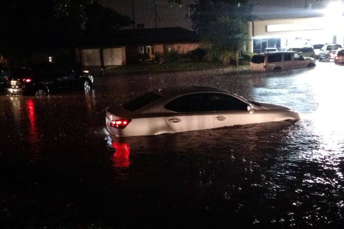Image: Floods in Houston, Texas.