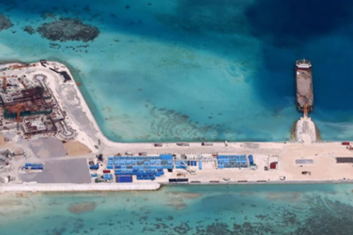 South China Sea Artificial Islands Weapons