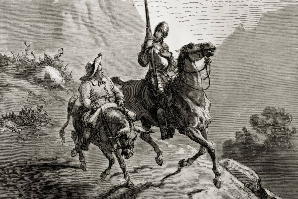 Резултат с изображение за don quixote sancho panza