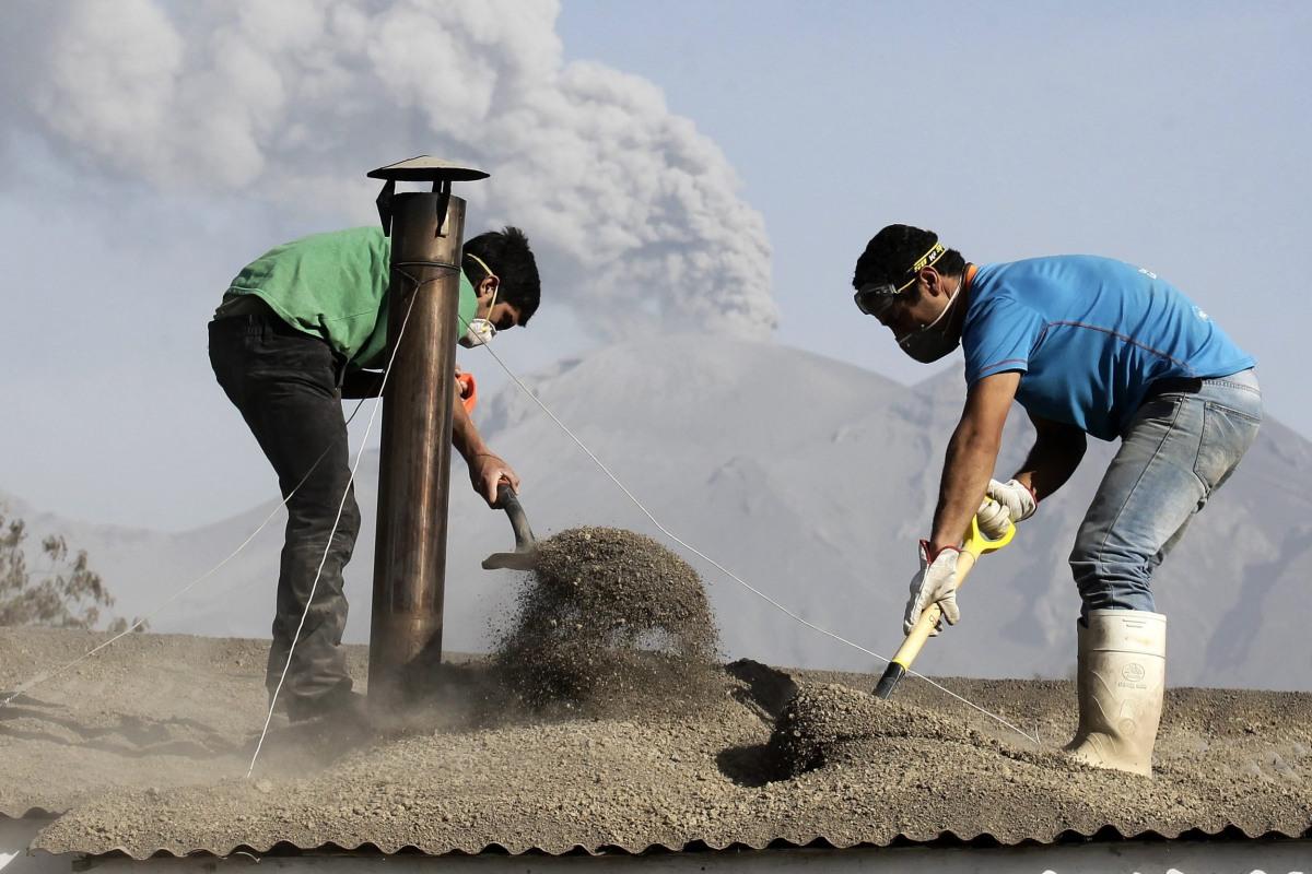 Image: Volcano Calbuco in Chile