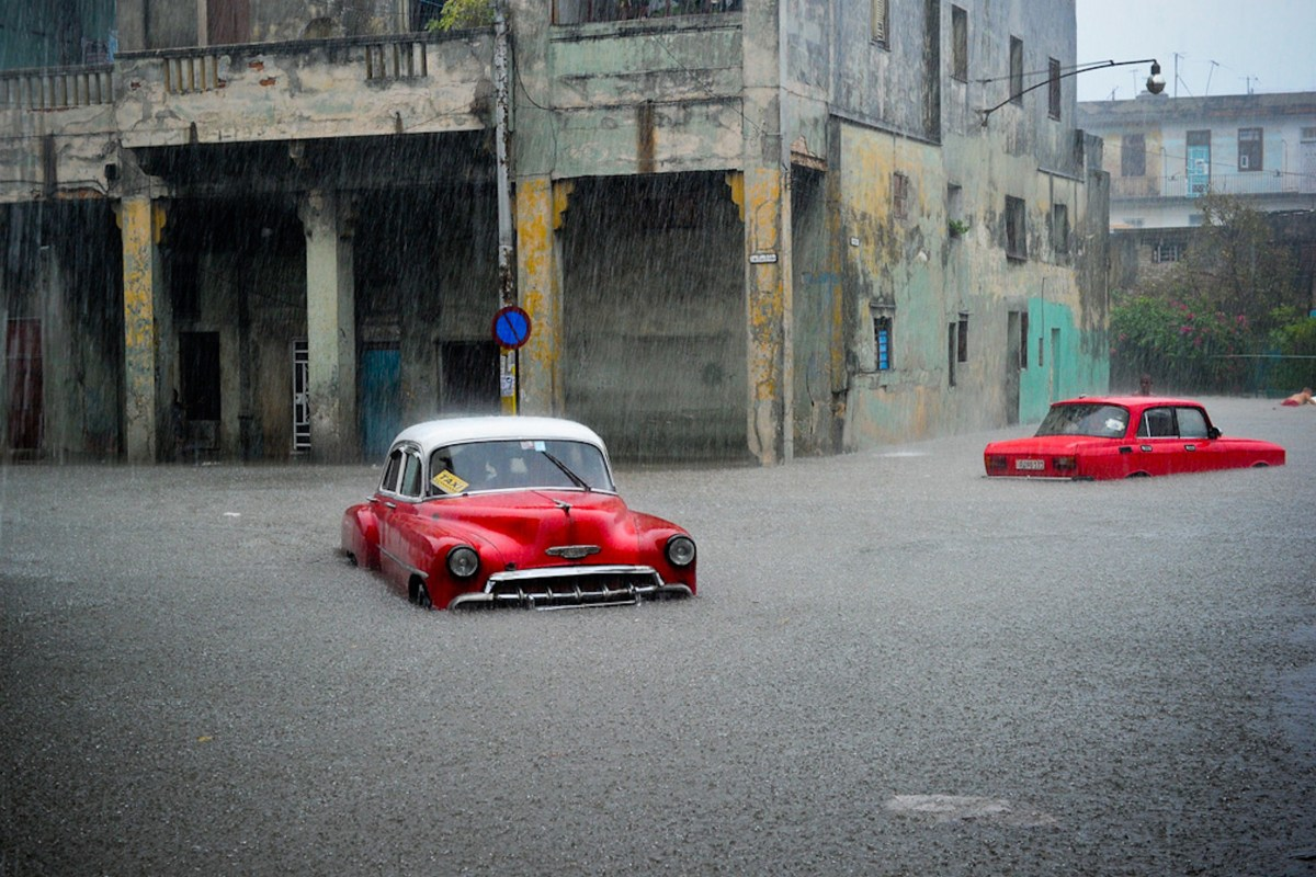 Image: CUBA-WEATHER-FLOOD