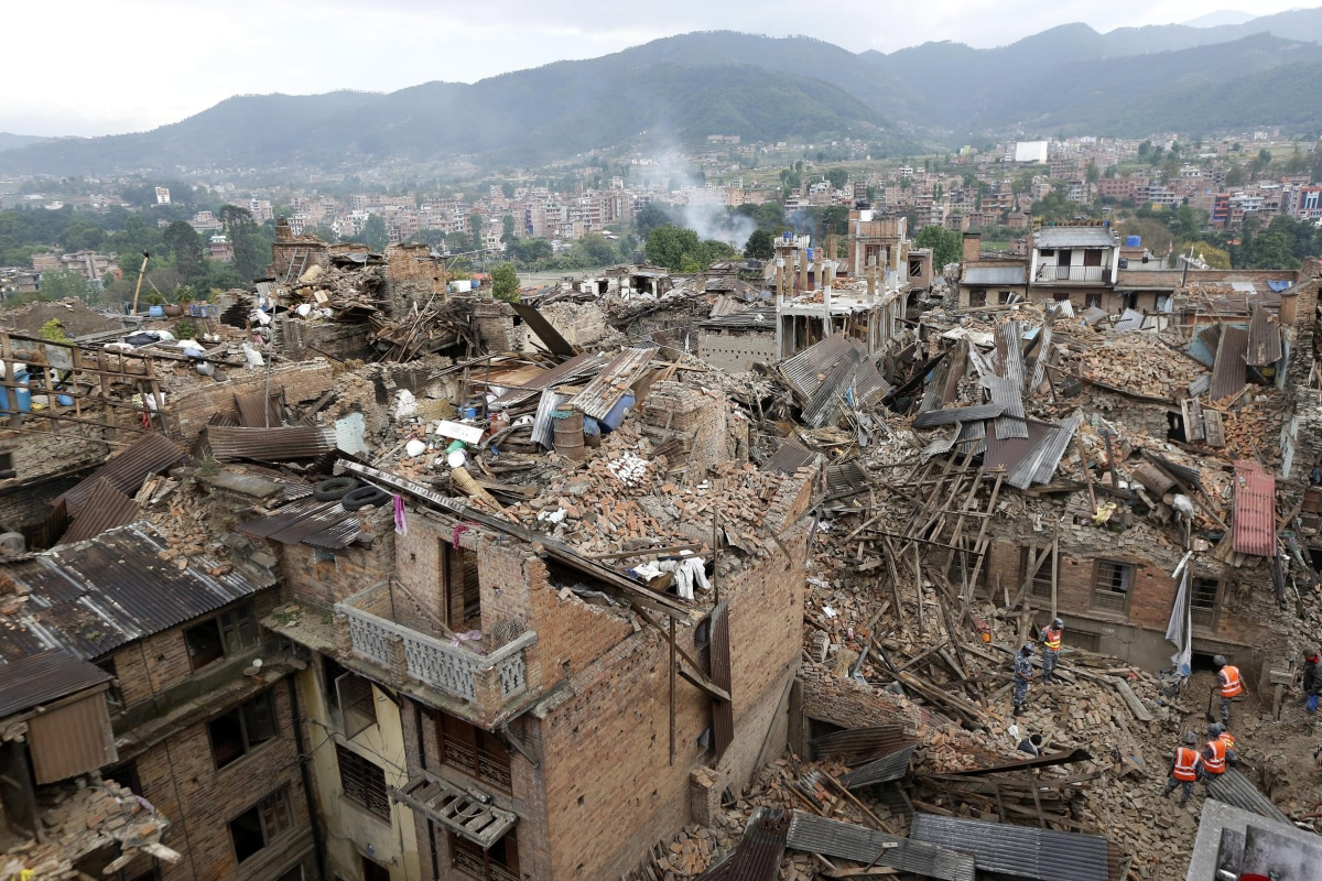 Natural Disasters In Nepal Wikipedia
