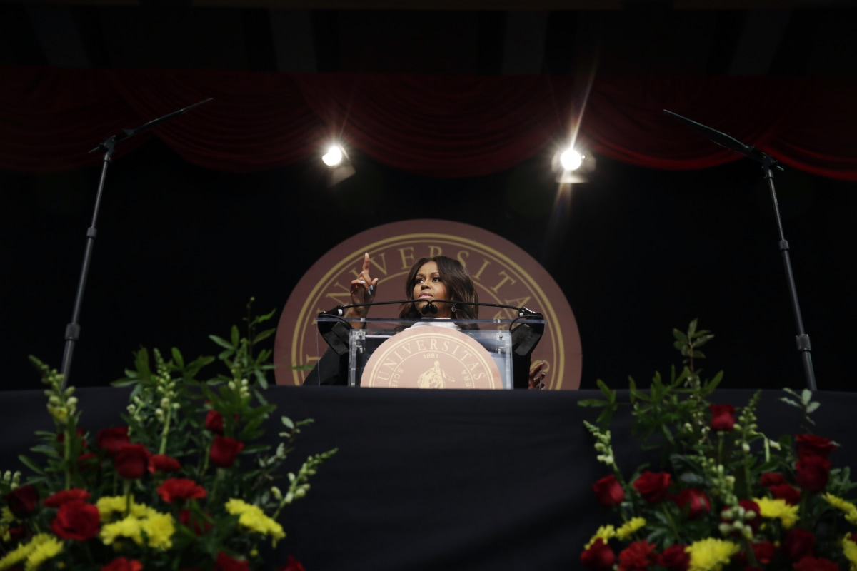 michelle robinson princeton thesis The thesis, titled princeton-educated blacks and the black community and written under her maiden name, michelle lavaughn robinson, in 1985, has been the subject of.