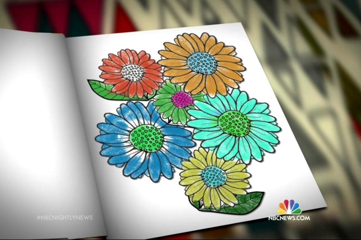 Thinking Outside Of The Crayon Box Adults Use Coloring