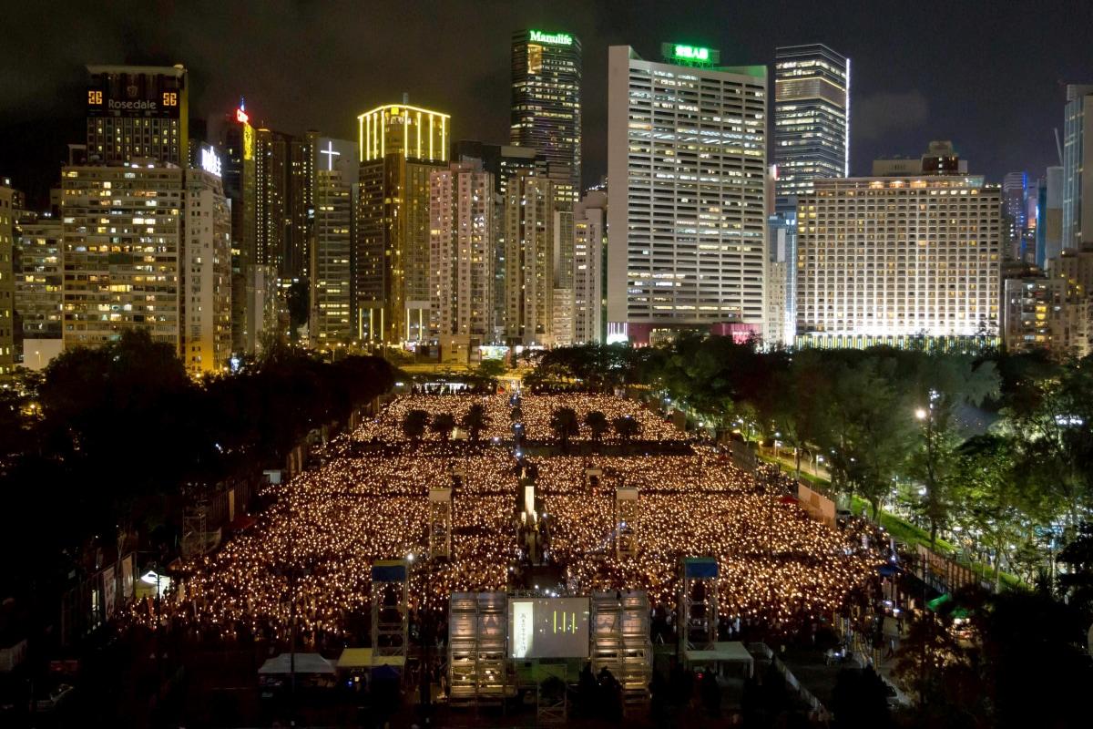 Image: Hong Kong Remembers Tiananmen Massacre