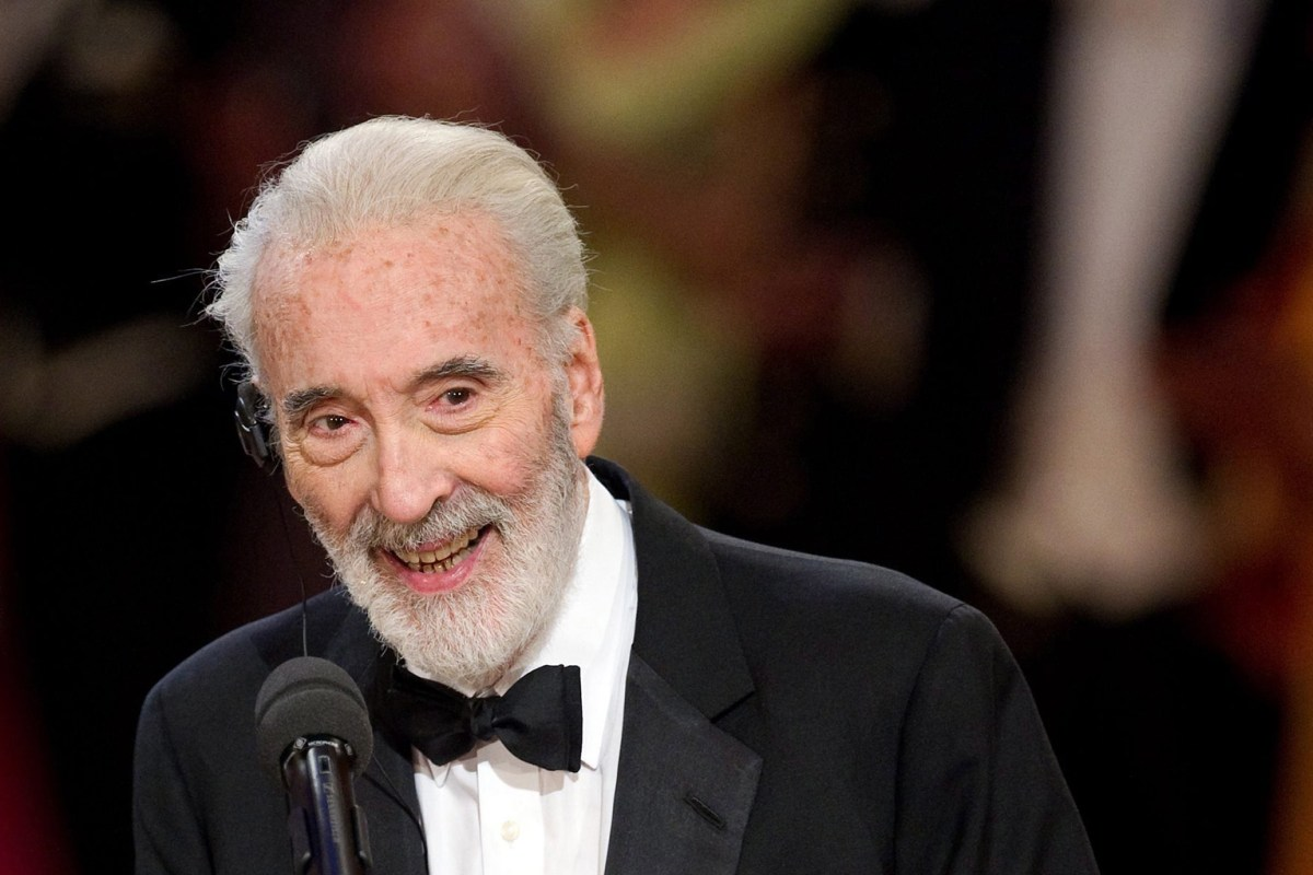Christopher Lee, 'Star...