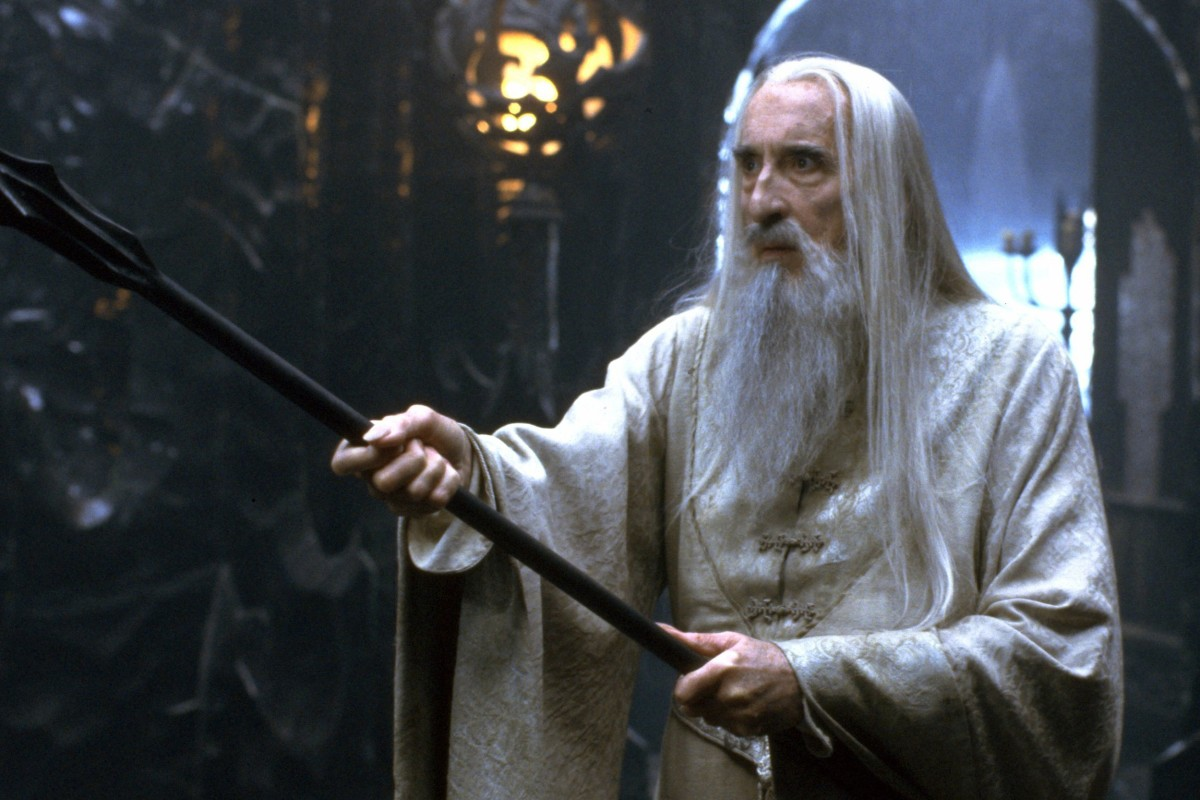 Christopher Lee Star Wars And Lord Of The Rings Actor