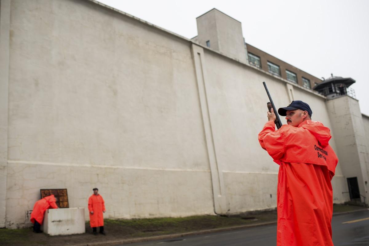 Image: Prison guards Clinton Correctional Facility Dannemora, N.Y.