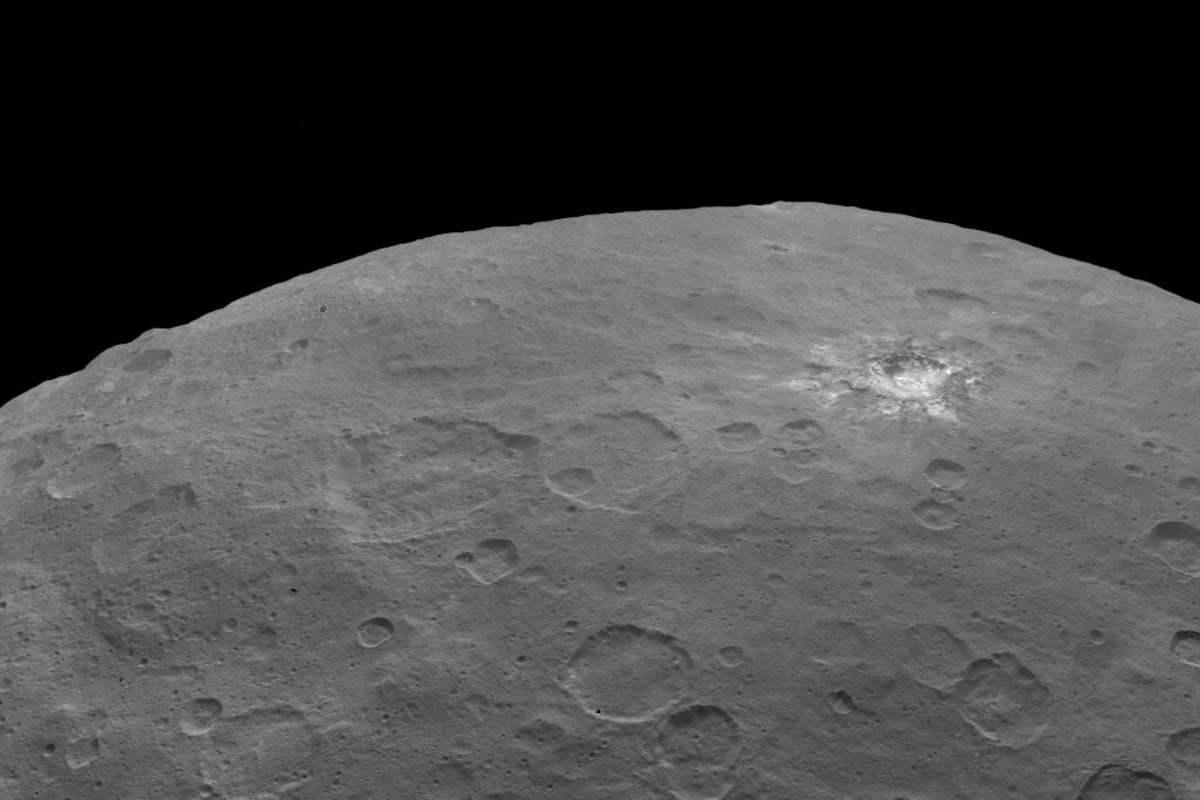 Image: Spot 1 on Ceres
