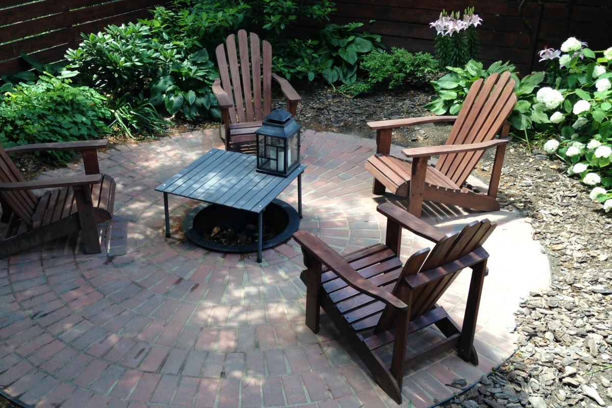 Backyard Beauty Create Your Own Brick Patio Nbc News