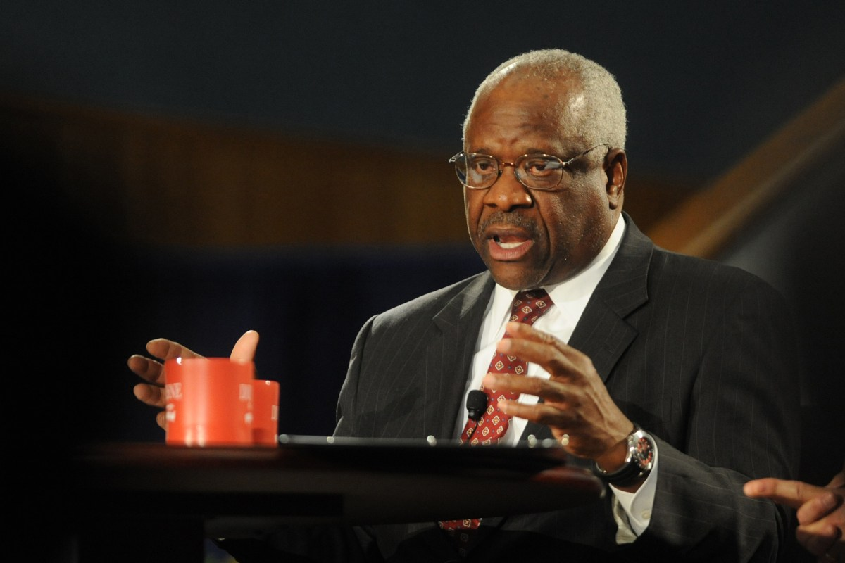 clarence thomas an american judge He is an african american conservative who was named to replace a civil judges or juries ruffin detested clarence thomas, said mallory.