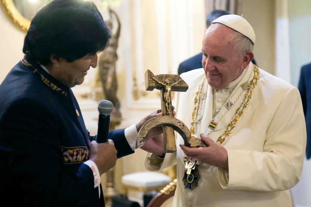 Bildergebnis für evo morales in vatica