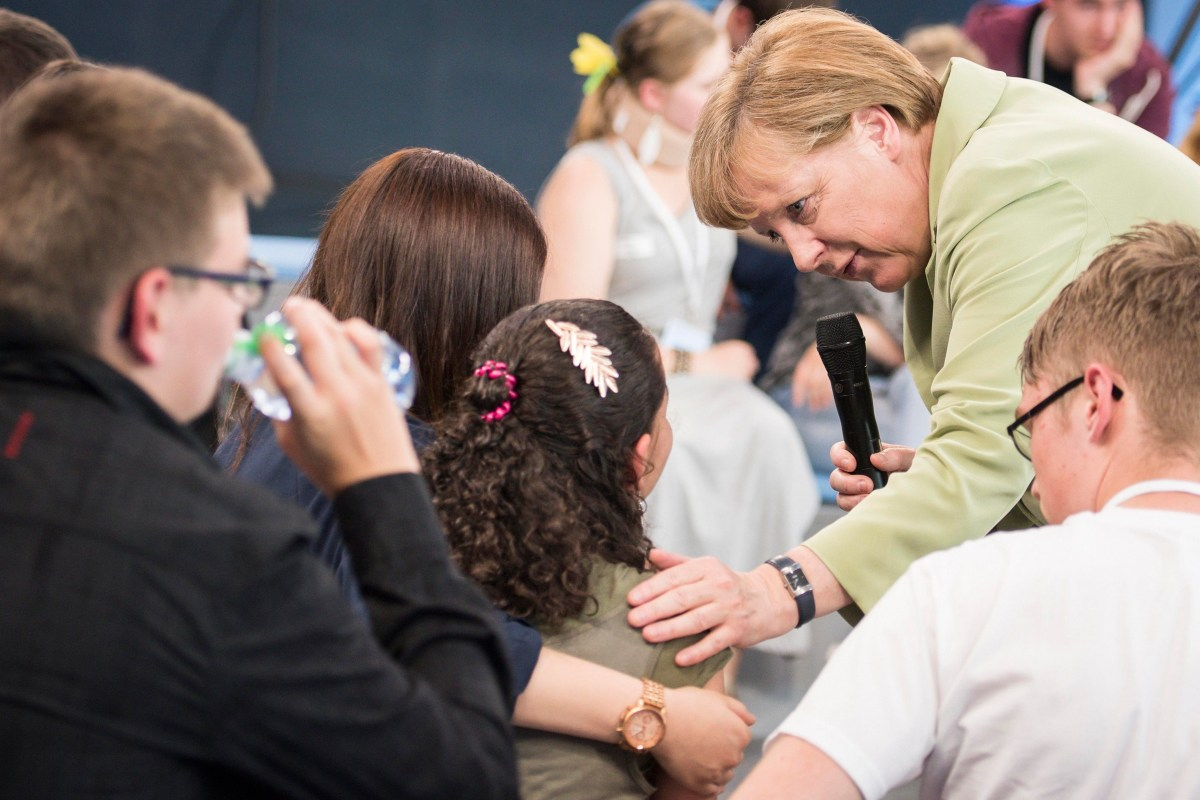 Refugees enjoy german teen 1
