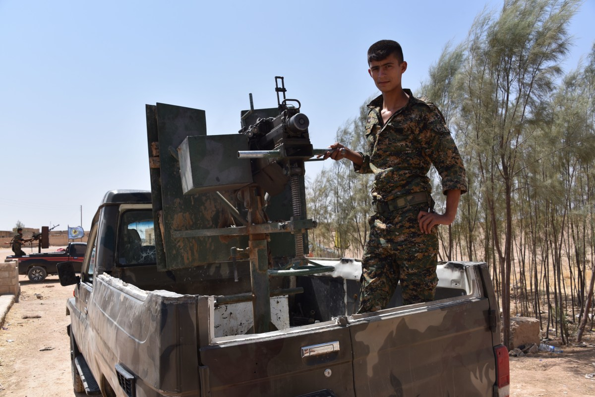 Left Thousands Of Mines In Syrian City Of Hasakah Kurds Nbc News