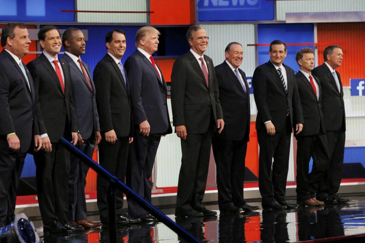 GOP Debate: Republican Presidential Hopefuls Trade Blows ...