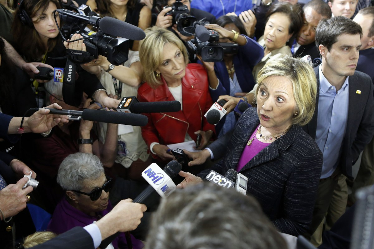 media bias against hilary clinton in Hillary clinton during the fourth day of the democratic national  of negative  coverage of the presidential candidates, charted against the.