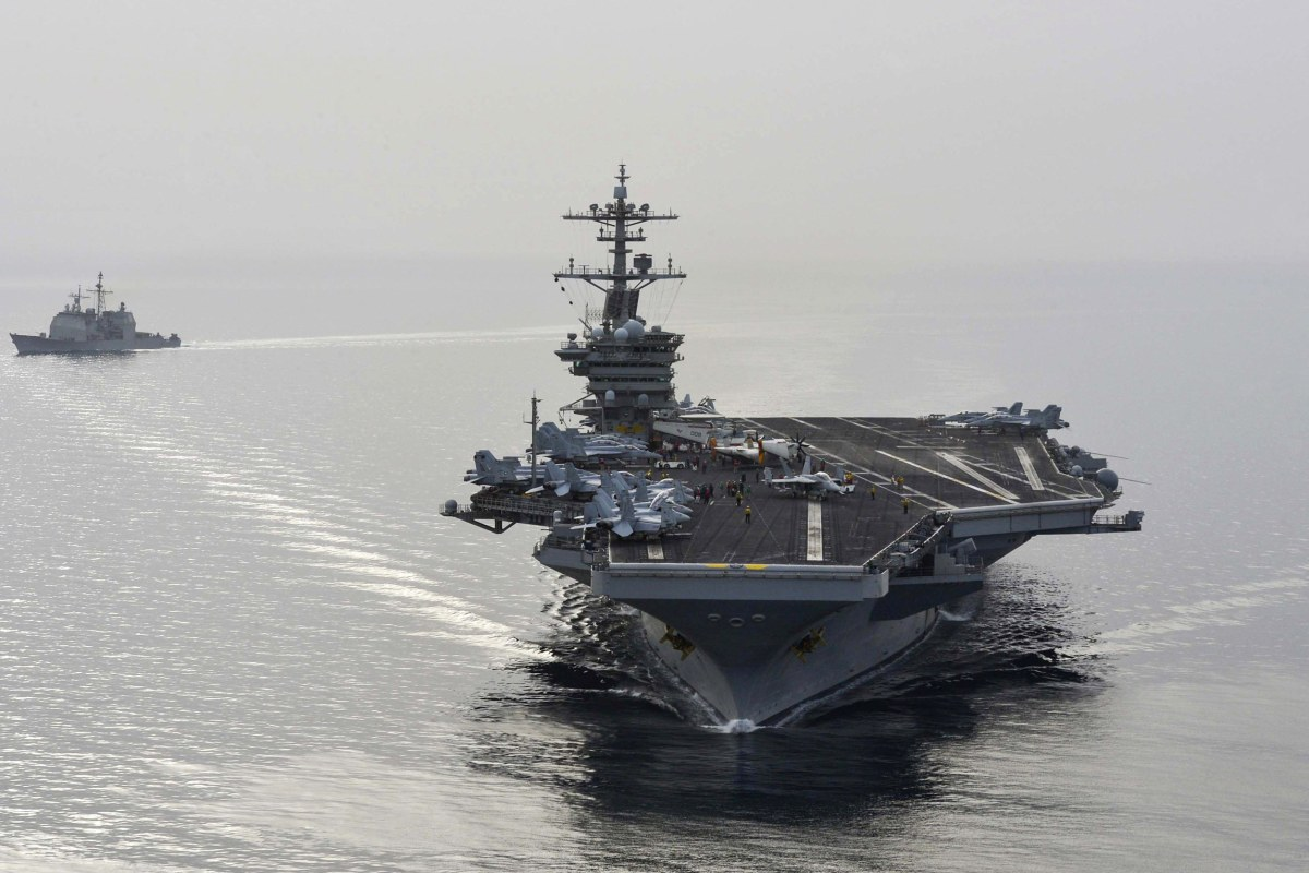 As Russia Bombs Syria, U.S. Pulls Aircraft Carrier Out of Persian Gulf
