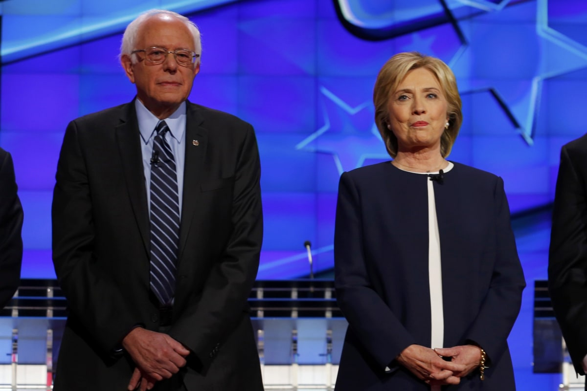 Clinton versus Sanders: who can take on the Republicans?