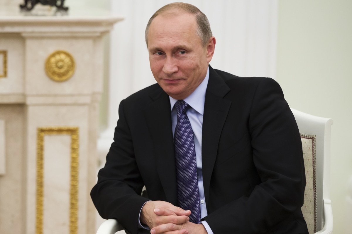 Vladimir Putin Is Forbes' Most Powerful Person