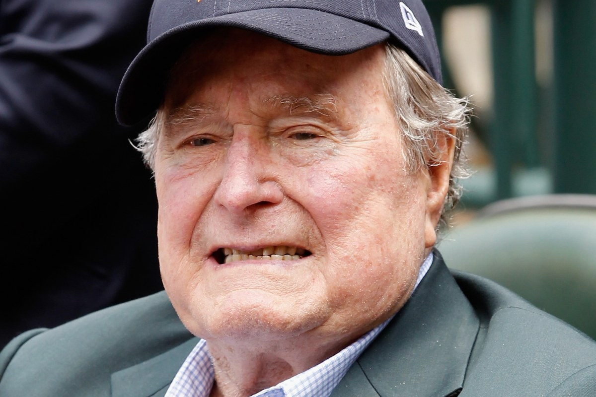 In Biography George H W Bush Slams Iron Ass Cheney