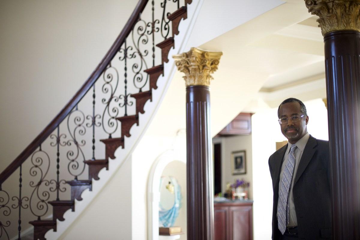 photos offer a revealing look inside ben carson s home