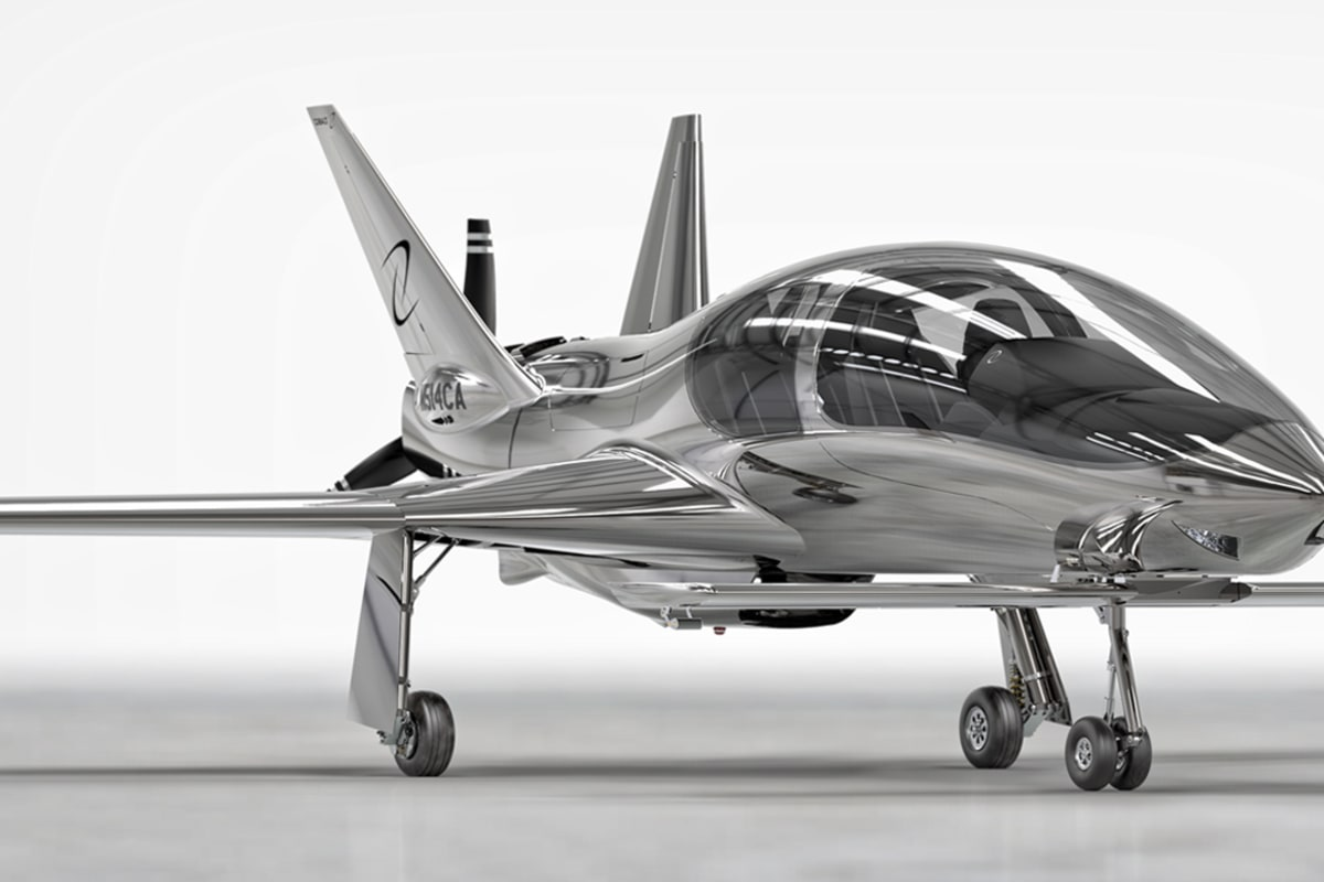 Cool Plane Propellers : Sleek valkyrie private plane lets you fly in style nbc news