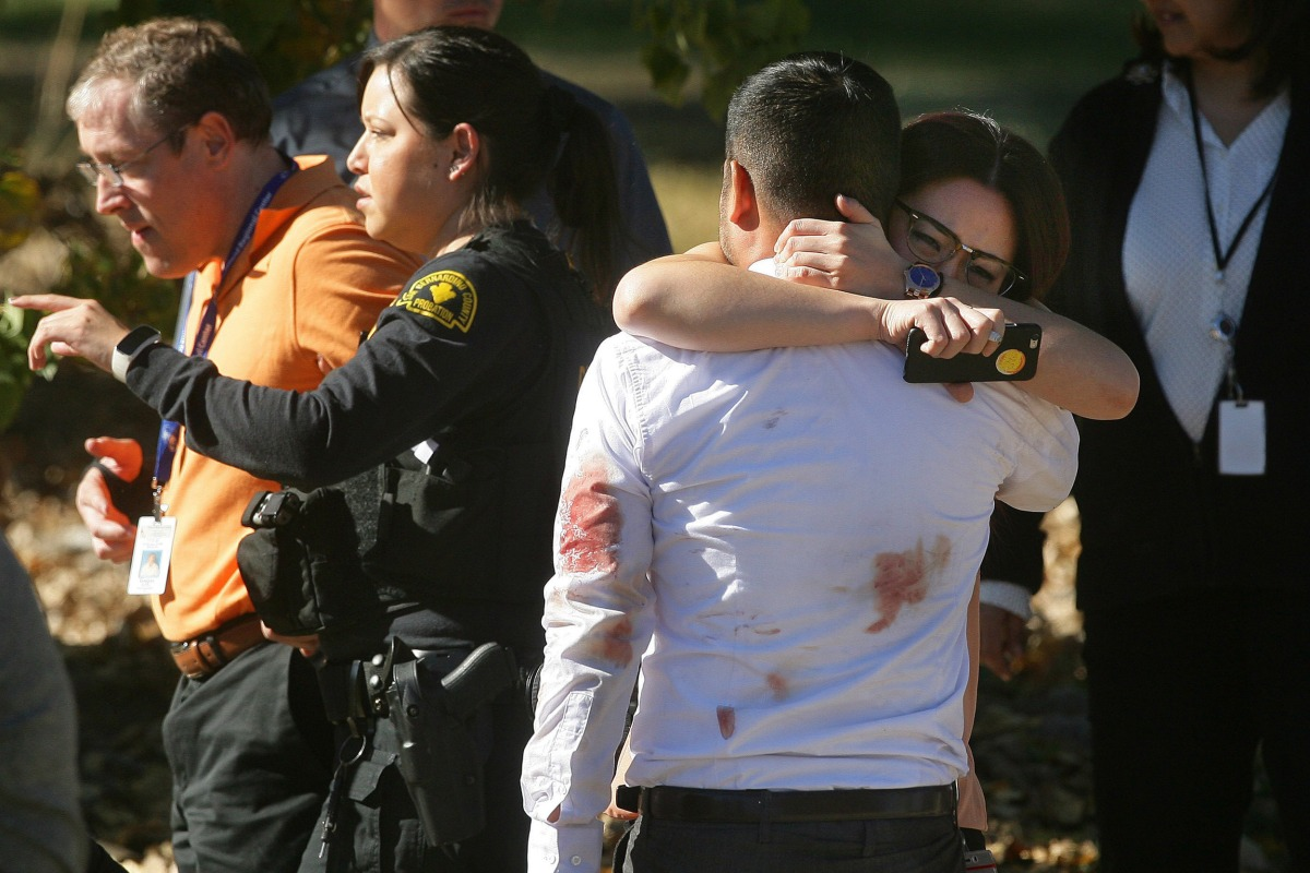 At Least 14 Dead in California Shooting, Two Suspects Killed