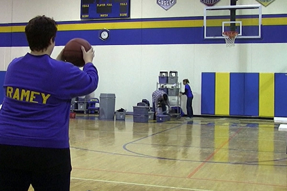 Hoop Dream Come True: Mom Makes Lucky Shot, Earns Half ...