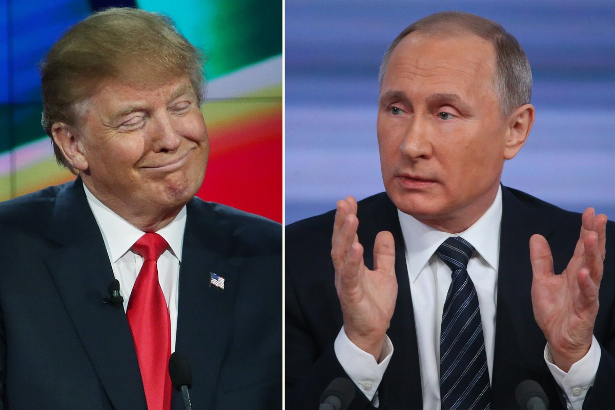 politics donald trump russia obama putin
