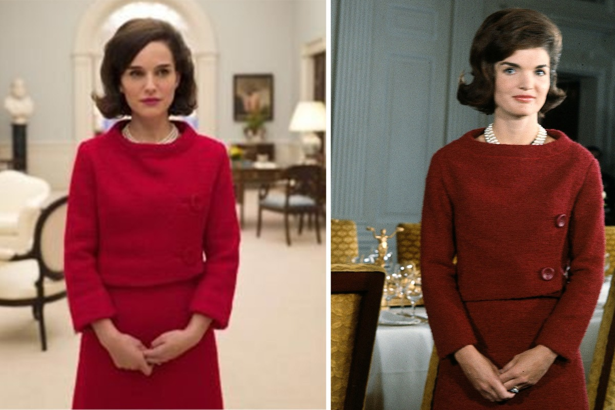 See first photo of natalie portman as jackie kennedy in for Jackie kennedy movie