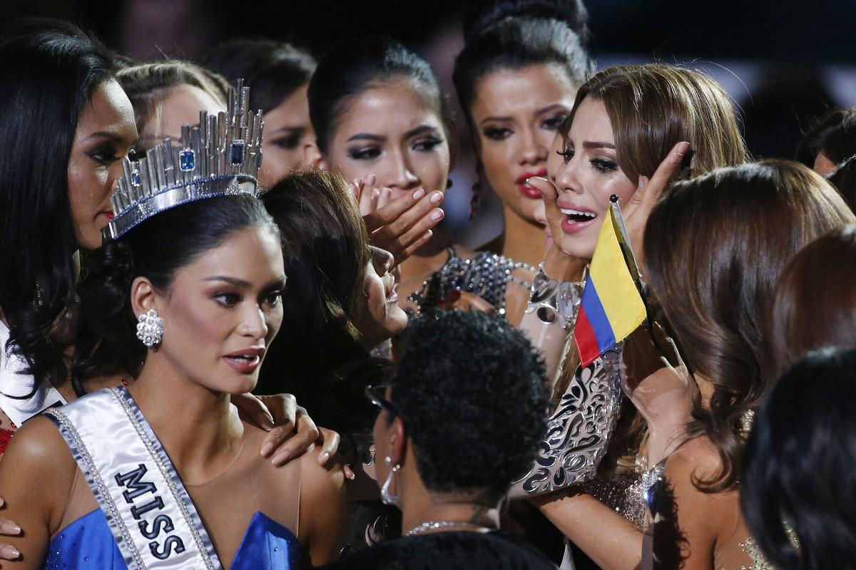 Miss Colombia 2017 Antes Y Despues >> Host Steve Harvey Botches Miss Universe Announcement - NBC News