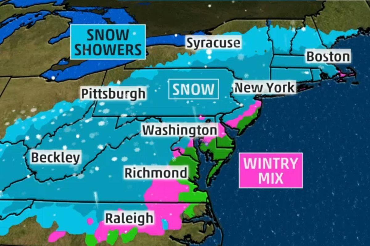 Dc Weather Radar Snow Forecast - Bitterroot Public Library