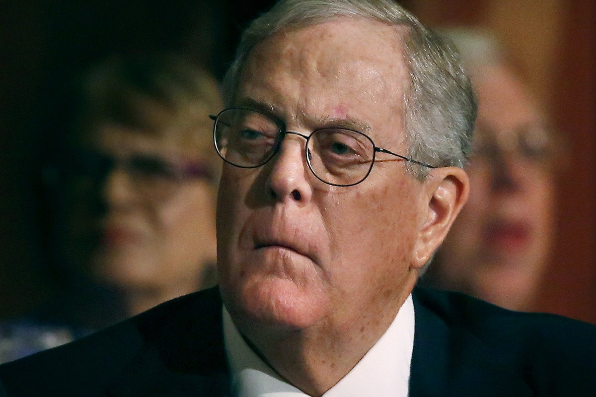 What is 39 dark money 39 and why do so many people think it 39 s for David charles koch