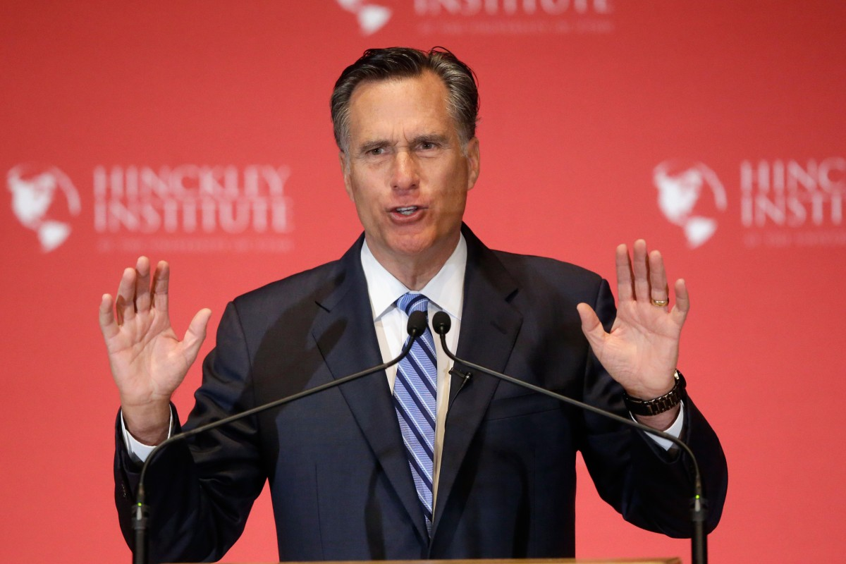 Why Romney's Anti-Trump Speech Is a Turning Point in the ...