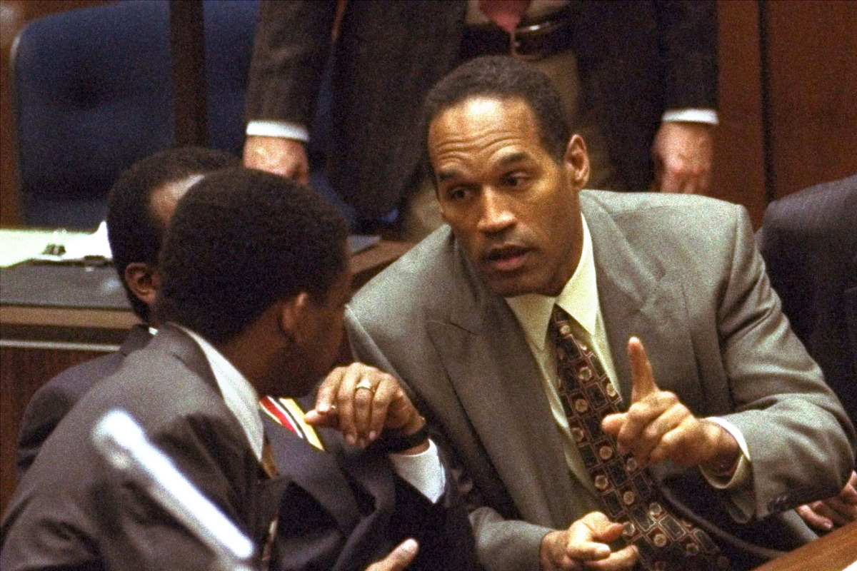"""the famous trial of oj simpson The """"people v oj simpson"""" — it was known as """"the trial of the century"""" a famous football player, turned b-movie star turned pop icon."""