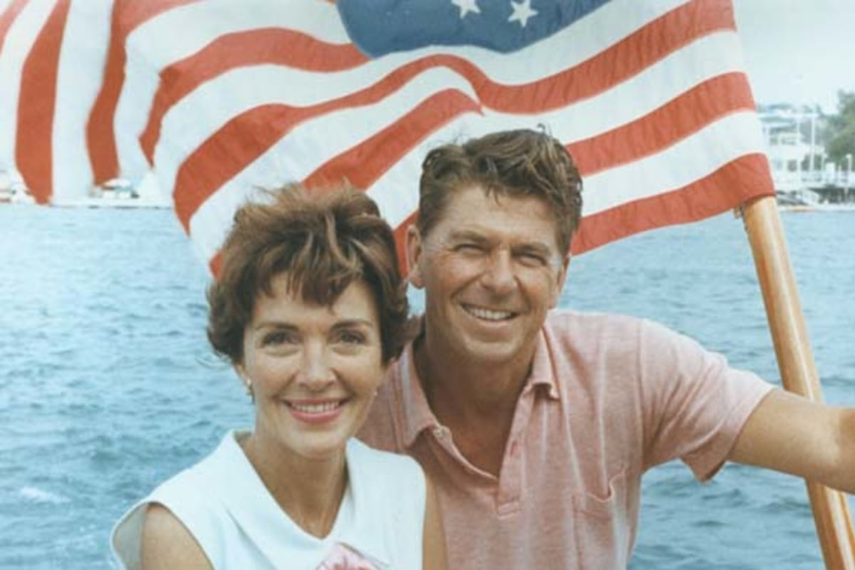nancy reagan defense