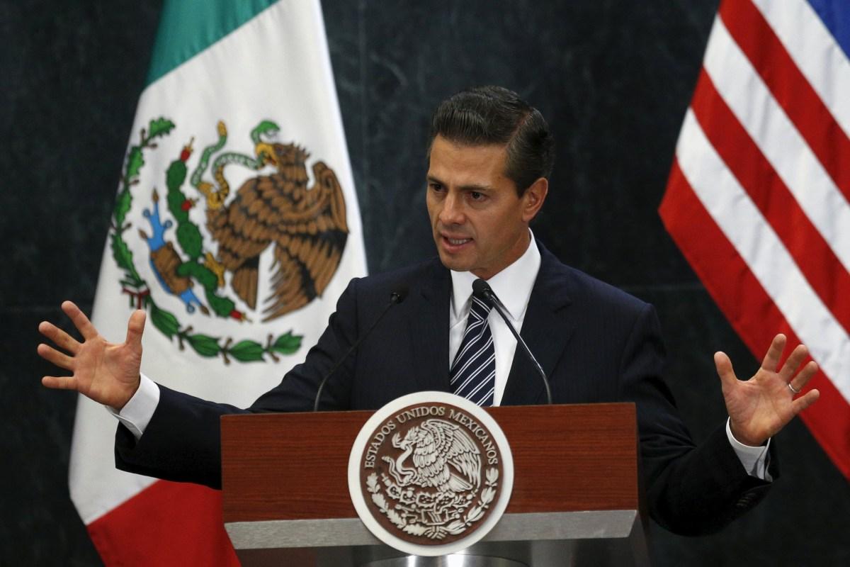 Mexican President Enrique Peña Nieto on Trump's Rhetoric ...