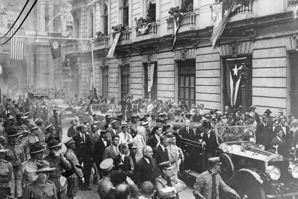 President Calvin Coolidge Visits Havana, Cuba In January 1928 Us Secret  Service Via Twitter
