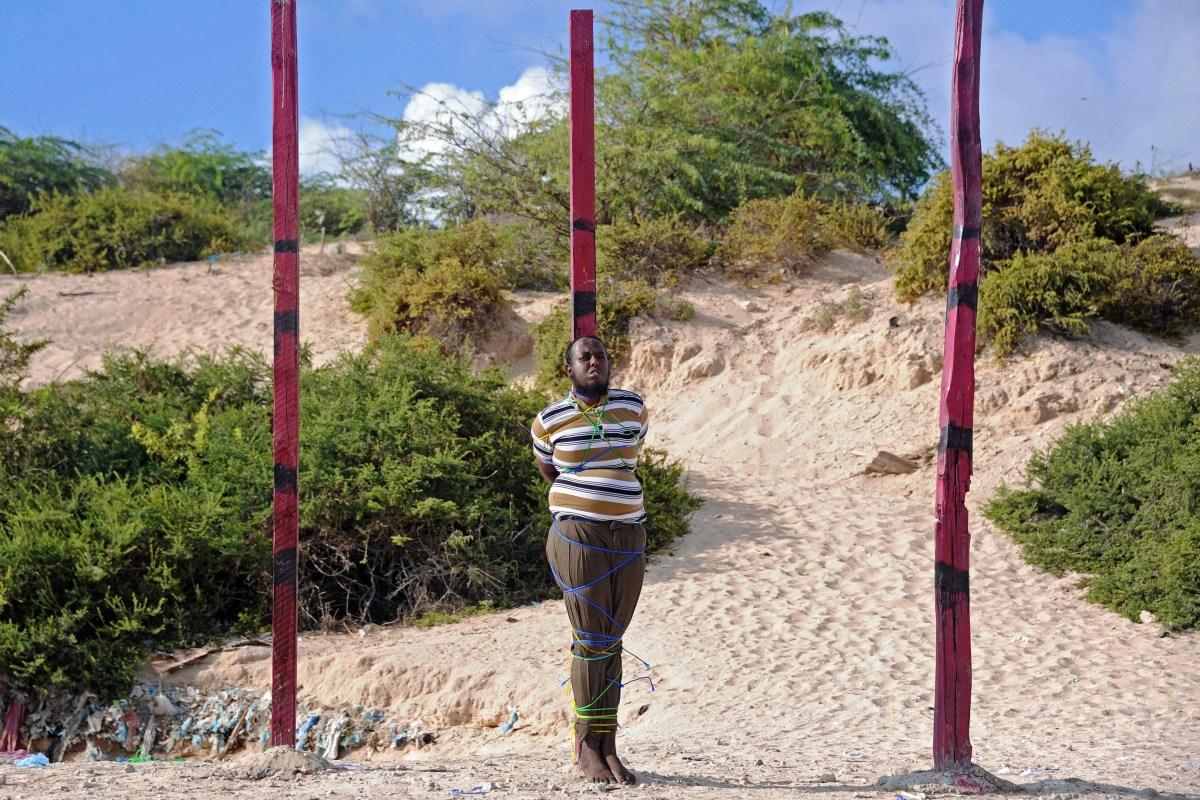 Image: TOPSHOT-SOMALIA-EXECUTIONS-CRIME-MEDIA-UNREST