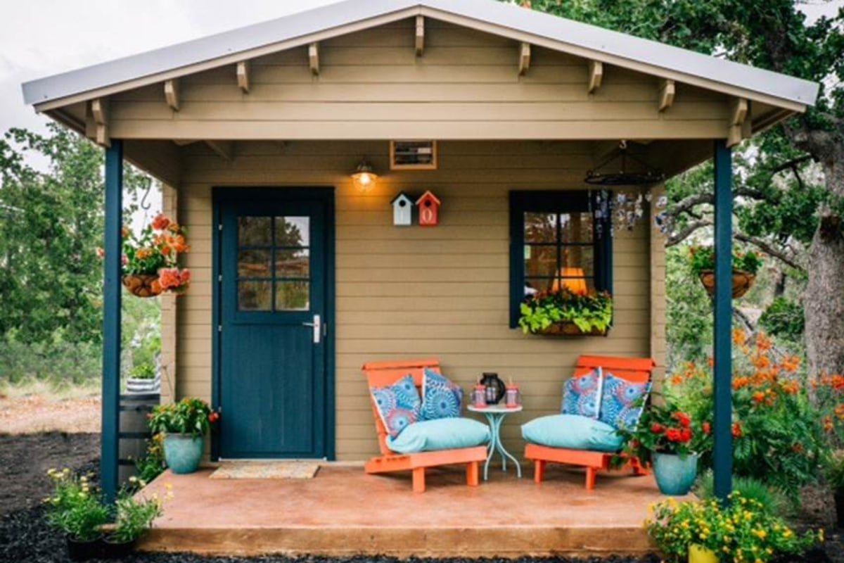 these tiny houses can make a big difference for austins homeless nbc news - Austin Garden Homes