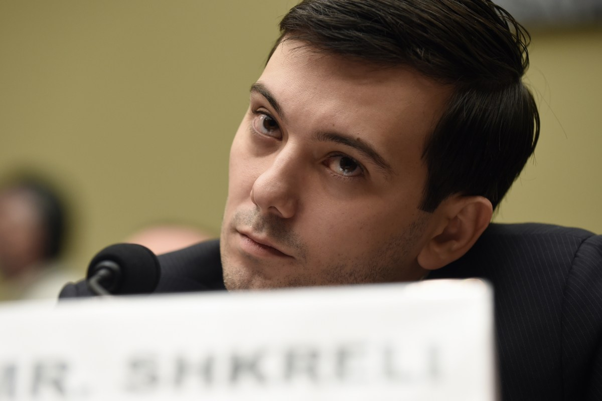 Prosecutors ask judge to shut up 'Pharma Bro'