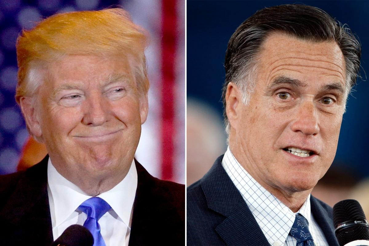 mitt romney meet the press video with trump