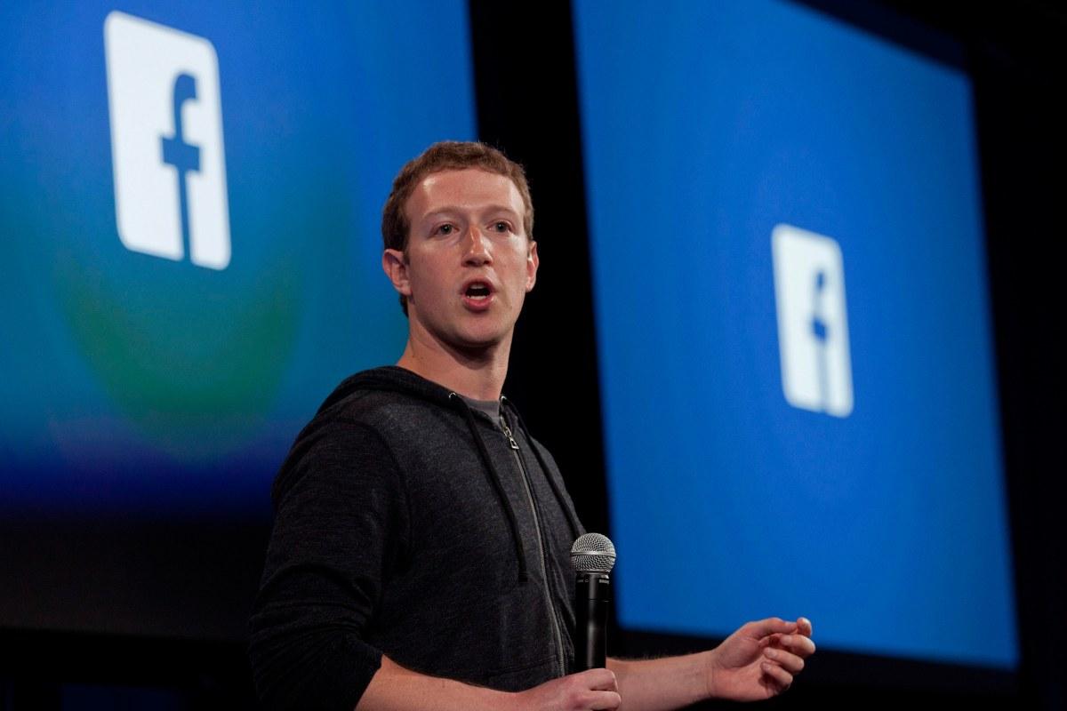 Facebook CEO Mark Zuck...