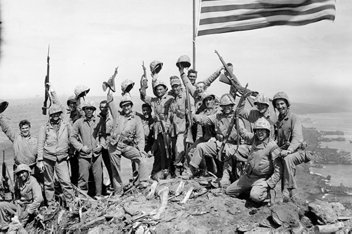 Star-Spangled Mystery: What Became of Lost Iwo Jima Flag ... Raising