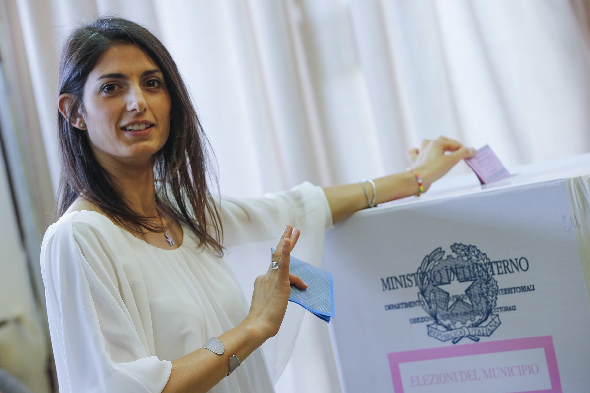 Rome Elects Virginia Raggi As City S First Female Mayor