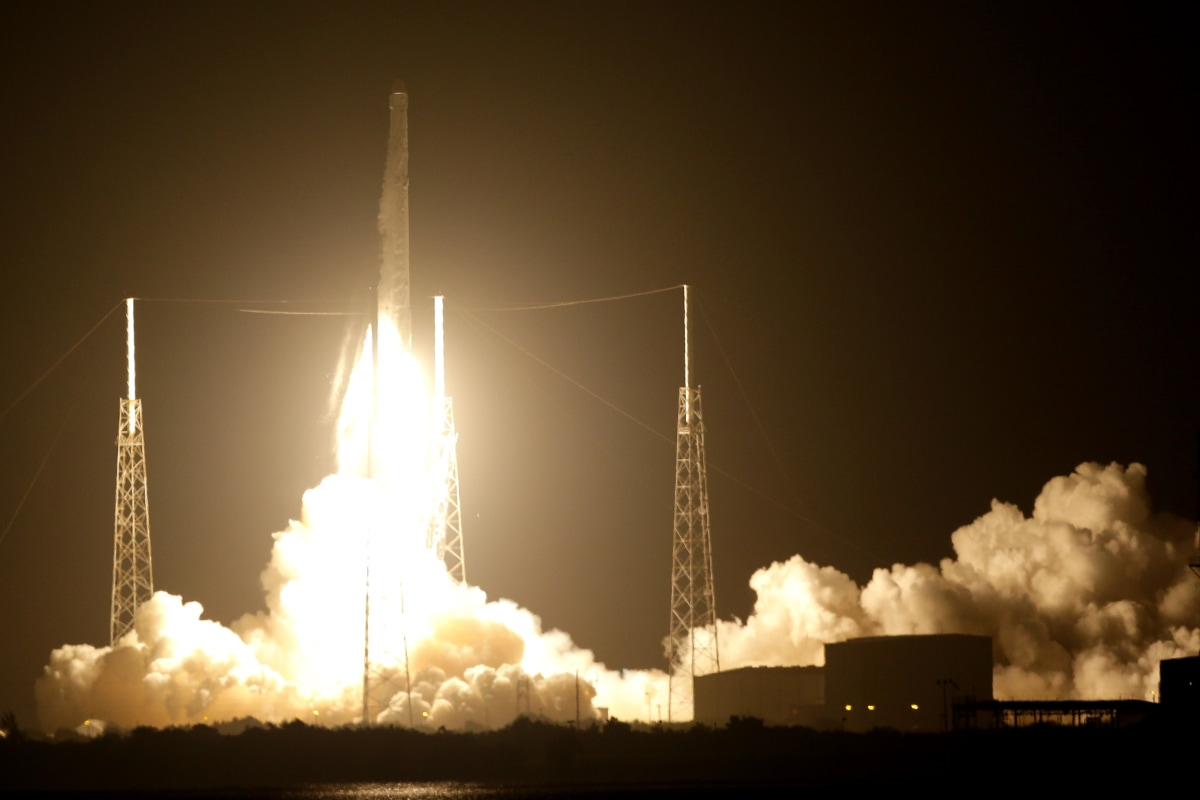 SpaceX Lands Fifth Rocket During Space Station Cargo Launch - NBC News