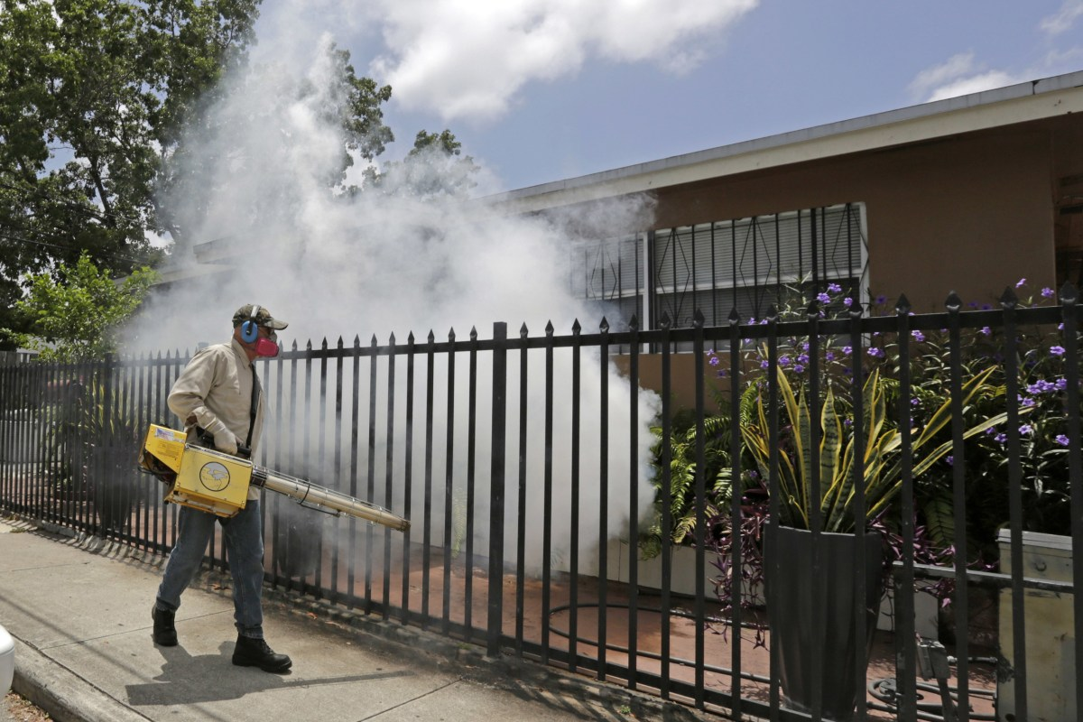 Another New Zika Case Found In Florida NBC News - Map of florida counties with zika
