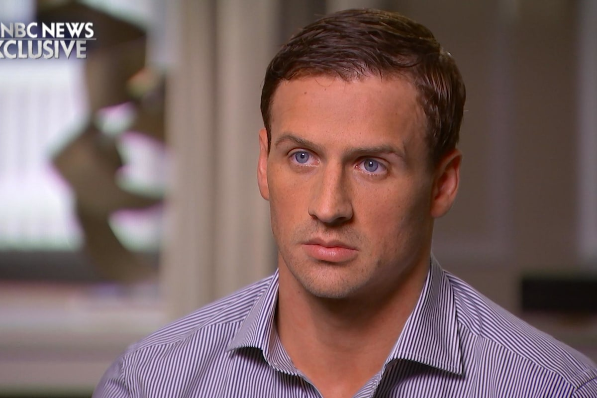Ryan Lochte on Rio Incident: 'I Over-Exaggerated That Story'