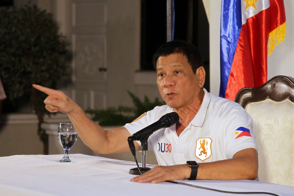 President Duterte Slams The Video Scandal Of His Critic: Philippine President Duterte Blasts U.S. On Syria And